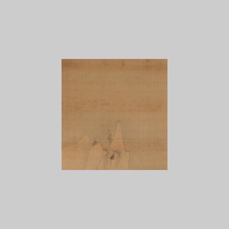 paesaggio innevato rotolo giapponse bonsai creativo online