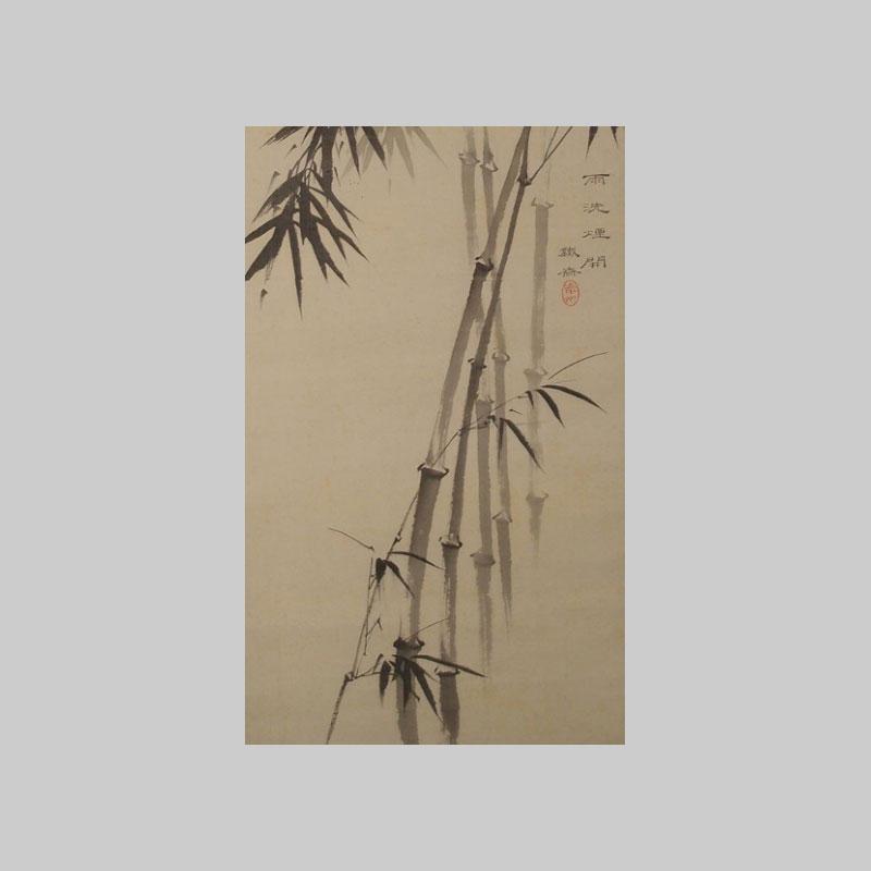 particolare rami bambu rotolo online bonsai creativo