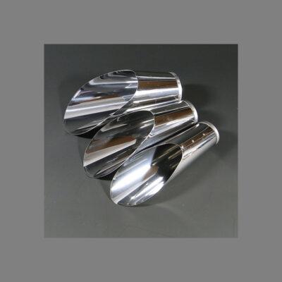 """Convogliatori per substrato – Kaneshin in acciaio per radici"""" 170mm tre misure small. Medium, e large -350g"""" No.151"""