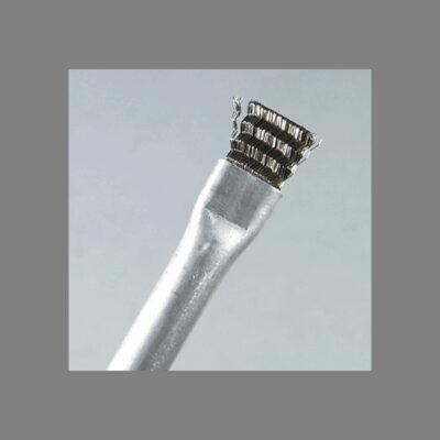 Spazzola in acciaio con manico in alluminio – Larghezza delle spazzole 100 mm.