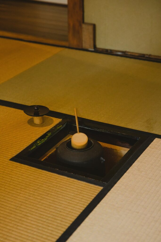 cerimonia del tè bollitore