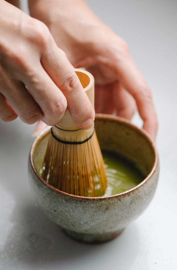 cerimonia del tè utensili